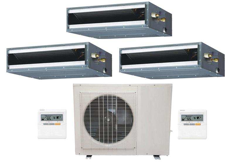 Aou48flxfz Aru12rlf 12rlf 24rlf Ductless Air Conditioner Cost